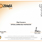 Official Zumba Gold Instrucor License
